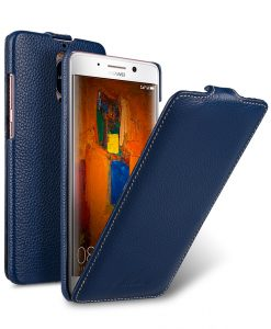 Melkco Premium Leather Case for Huawei Mate 9 Pro - Jacka Type ( Dark Blue LC )