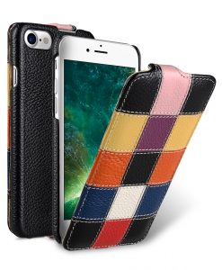 "Melkco Patchwork Series Premium Leather Jacka Type Case for Apple iPhone 7 / 8 (4.7"") - (Assorted Color 1 LC)"