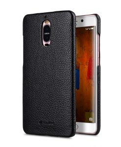 Melkco Snap Cover Series Lai Chee Pattern Premium Leather Snap Cover Case for Huawei Mate 9 Pro - ( Black LC )