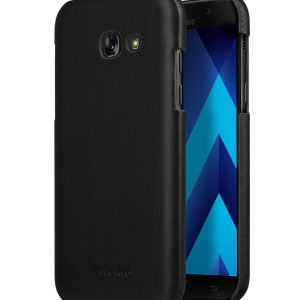 Melkco Premium Leather Snap Cover for Samsung Galaxy A5 (2017) - ( Vintage Black )