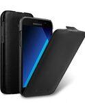 Melkco Premium Leather Case for Samsung Galaxy A5 (2017) - Jacka Type ( Vintage Black )