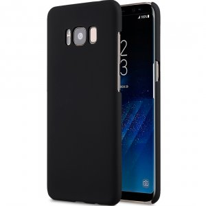 Melkco Rubberized PC Cover for SAMSUNG GALAXY S8 Plus -Black (Without screen protector)