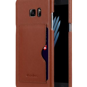 Premium Leather Card Slot Snap Cover (Ver.1) for Samsung Galaxy Note 7
