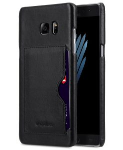 Melkco Premium Leather Card Slot Snap Cover (Ver.1) for Samsung Galaxy Note 7 (Black)