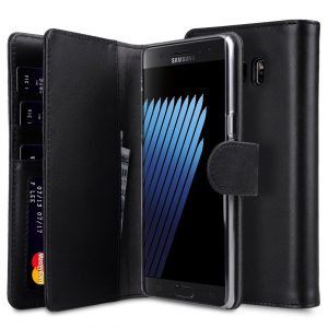 Premium Leather Case for Samsung Galaxy Note 7 - Wallet Plus Book Type