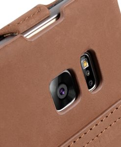 Melkco Premium Leather Case for Samsung Galaxy Note 7 - Jacka Stand Type (Classic Vintage Brown)