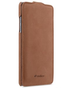 Melkco Premium Leather Case for Samsung Galaxy Note 7 - Jacka Type (Classic Vintage Brown)