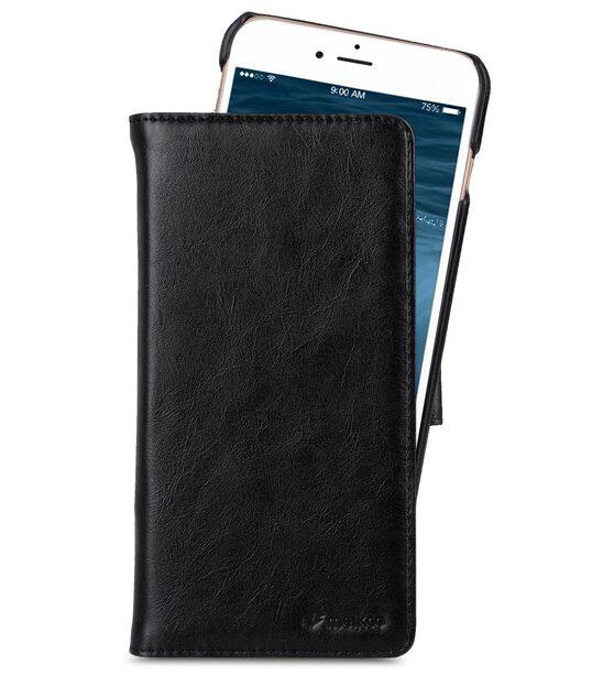 "Melkco Mini PU Leather Alphard Case for Apple iPhone 7 / 8 Plus (5.5"") - (Black PU)"