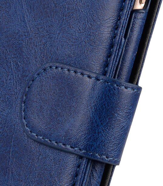 "Melkco Mini PU Leather Alphard Case for Apple iPhone 7 / 8 Plus(5.5"") - (Dark Blue PU)"
