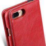"Melkco Mini PU Leather Alphard Case for Apple iPhone 7 / 8 Plus (5.5"") - (Red PU)"