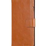 "Melkco Mini PU Leather Alphard Case for Apple iPhone 7 / 8 Plus (5.5"") - (Tan PU)"