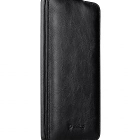 Melkco Jacka Series Crazy Horse PU Leather Jacka Type Case for Huawei Mate 9 – ( Black CH )