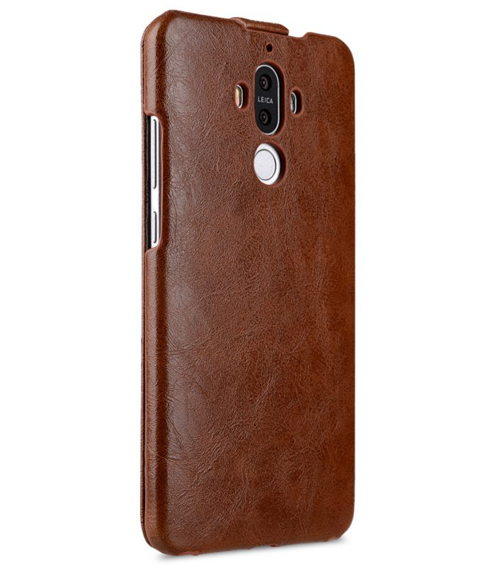 Melkco Jacka Series Crazy Horse PU Leather Jacka Type Case for Huawei Mate 9 - ( Brown CH )