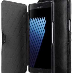 Melkco Mini PU Leather Case for Samsung Galaxy Note 7 - Booka Type (Black )