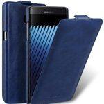 Melkco Mini PU Leather Case for Samsung Galaxy Note 7 - Jacka Type (Dark Blue )