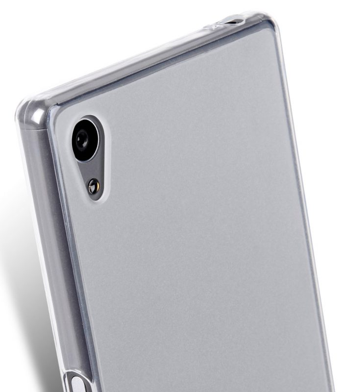 Melkco Poly Jacket TPU (Ver.3) for Sony Xperia Z5 - Transparent Mat