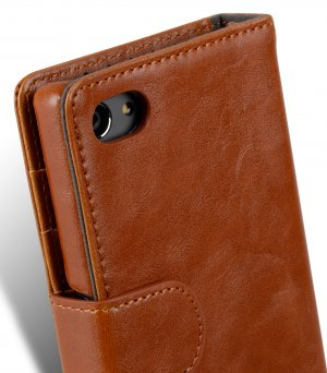 PU Cases Wallet Book Type for Sony Xperia Z5 Compact