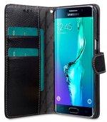 Melkco Premium Leather Case for Samsung Galaxy S6 Edge Plus - Wallet Book Type