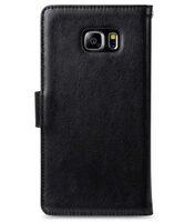 Melkco Mini PU Case for Samsung Galaxy S6 Edge Plus – Wallet Book Type (Black PU)