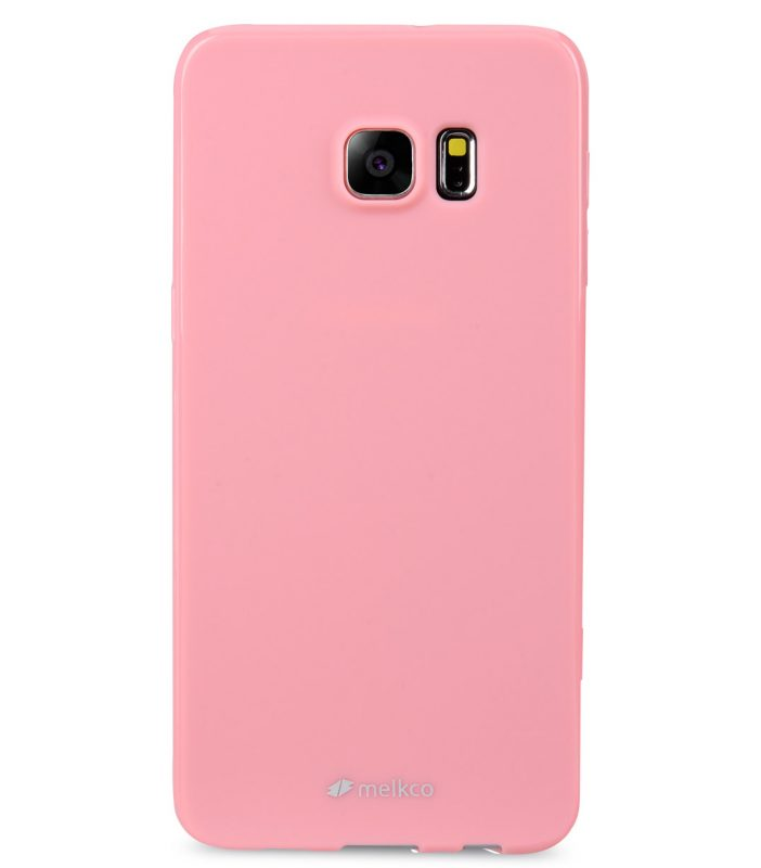 Melkco Poly Jacket TPU case for Samsung Galaxy S6 Edge Plus – Pearl Pink