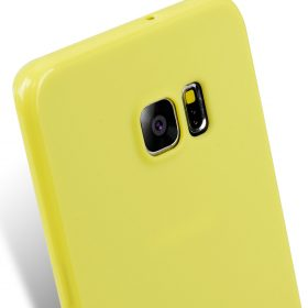 Melkco Poly Jacket TPU case for Samsung Galaxy S6 Edge Plus – Pearl Yellow