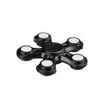 i-mee Five-Bar Fidget Spinner - (Black)