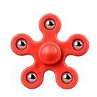 i-mee Steel Balls Five-Bar Fidget Spinner – (Red)