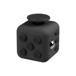 i-mee Stress Relief Fidget Cube - (Black/Black)