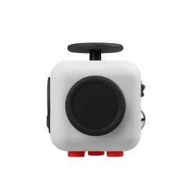i-mee Stress Relief Fidget Cube – (Grey/Red)