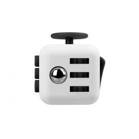 i-mee Stress Relief Fidget Cube – (White/Black)