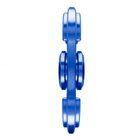 i-mee Aluminum Alloy Dual-Bar Fidget Spinner – (Blue)