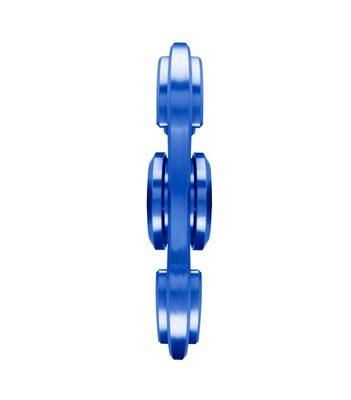 i-mee Aluminum Alloy Dual-Bar Fidget Spinner - (Blue)