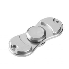 i-mee Aluminum Alloy Dual-Bar Fidget Spinner – (Silver)