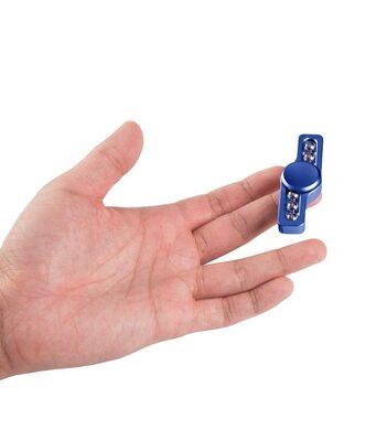 i-mee Beads Dual-Bar Aluminum Alloy Fidget Spinner - (Blue)