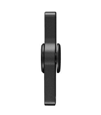i-mee Beads Dual-Bar Aluminum Alloy Fidget Spinner - (Black)