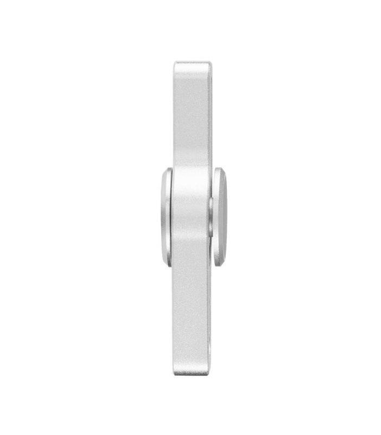 i-mee Beads Dual-Bar Aluminum Alloy Fidget Spinner - (Silver)
