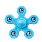 i-mee Steel Balls Five-Bar Fidget Spinner – (Blue)
