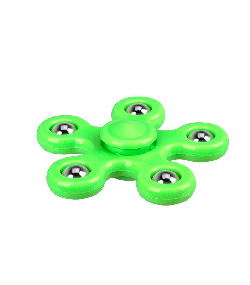 i-mee Steel Balls Five-Bar Fidget Spinner - (Green)