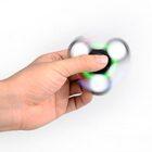 i-mee LED Light Tri-Bar Fidget Spinner – (Black)