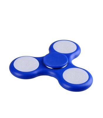 i-mee LED Light Tri-Bar Fidget Spinner - (Dark Blue)