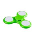 i-mee LED Light Tri-Bar Fidget Spinner – (Green)