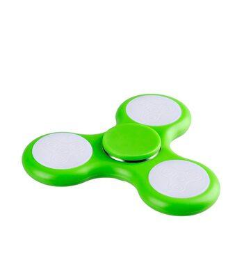 i-mee LED Light Tri-Bar Fidget Spinner - (Green)