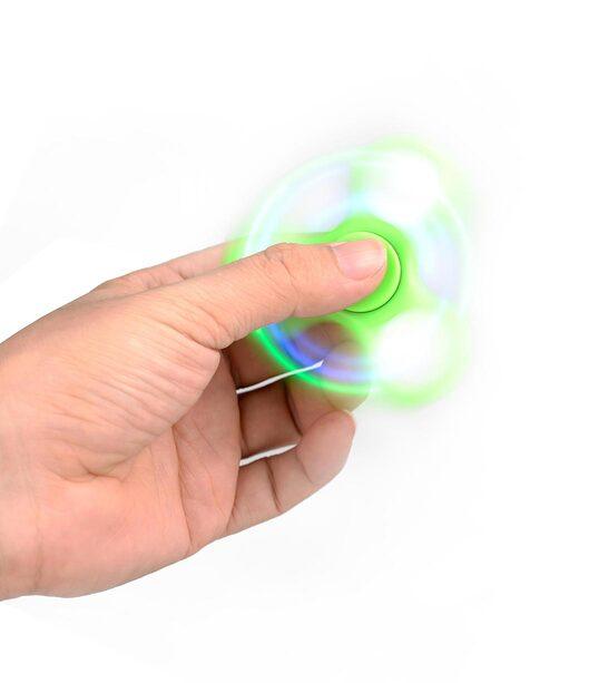 Led Light Tri Bar Fidget Spinner Melkco Phone Accessories