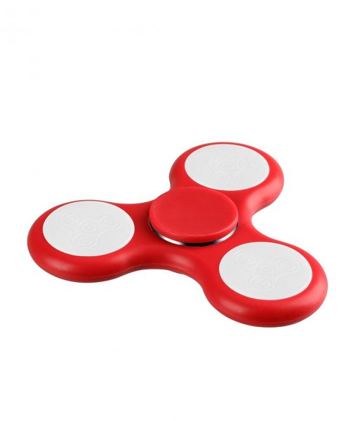 i-mee LED Light Tri-Bar Fidget Spinner - (Red)