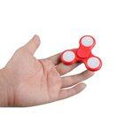 i-mee LED Light Tri-Bar Fidget Spinner – (Red)