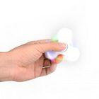 i-mee LED Light Tri-Bar Fidget Spinner – (White)
