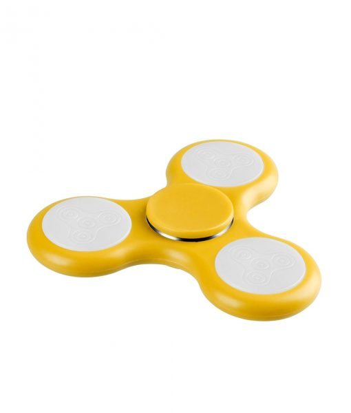 i-mee LED Light Tri-Bar Fidget Spinner - (Yellow)