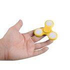 i-mee LED Light Tri-Bar Fidget Spinner – (Yellow)