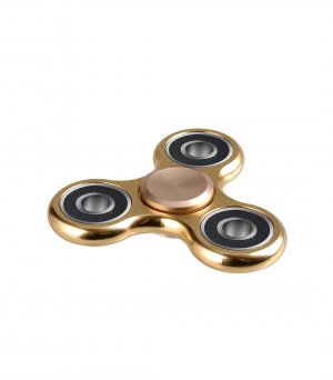 Aluminum Alloy Tri-Bar Fidget Spinner
