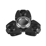 i-mee CKF CNC Metal Alloy Tri-Bar Fidget Spinner - (Black)